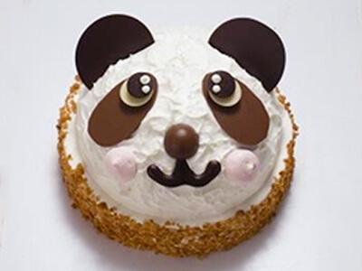 かわいいパンダちゃん デコレーション17cm,1歳,誕生日,ケーキ通販