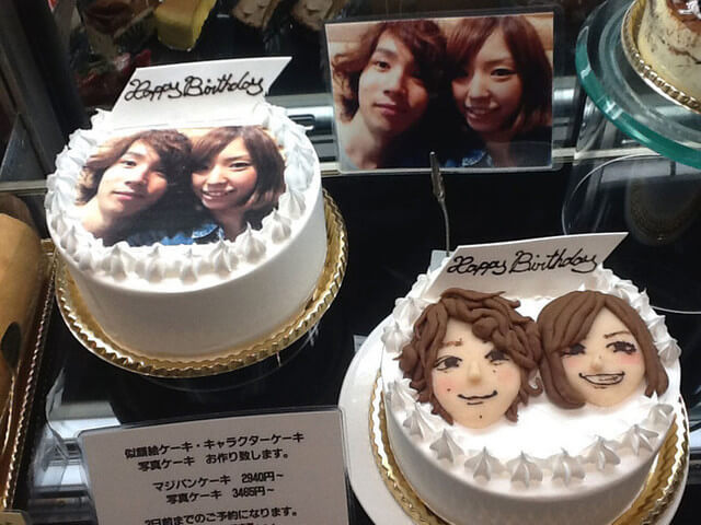 フォト&似顔絵ケーキ,オリジナルケーキ,オーダー,
