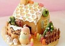 まるで絵本の世界♪パンケーキミックスでお菓子の家☆,絵本,レシピ,