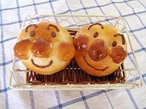 アンパンマンのお顔パン ,絵本,レシピ,