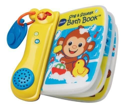 Vテック お風呂で赤ちゃんと英語と音楽をたのしむ絵本,お風呂 ,絵本,