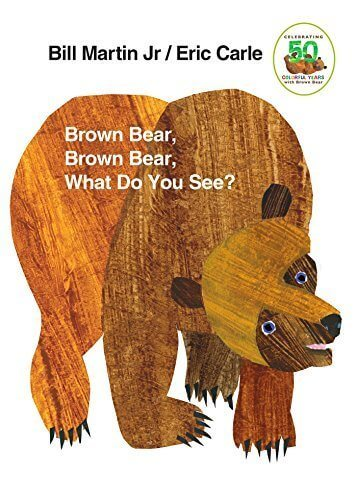 Brown Bear, Brown Bear, What Do You See?,3歳,絵本,