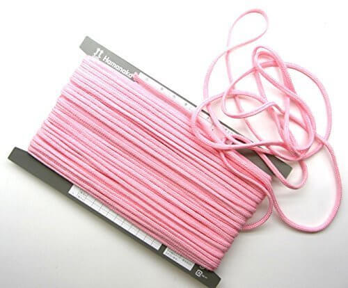 【手芸】カラーロープ(ひも)(中)ピンク(03)(★1mで54円です。10cm単位ではありません),ランドセルカバー,手作り,