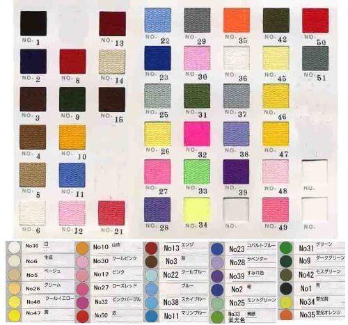 【国華】 〔色番:8赤〕カラー綾テープ20mm×5m巻(アクリル),ランドセルカバー,手作り,