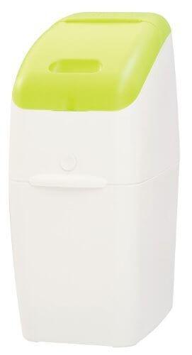 Aprica (アップリカ) 紙おむつ処理ポット におわなくてポイ 消臭タイプ 本体 グリーン 09121 「消臭」・「抗菌」・「防臭」可,双子,育児,