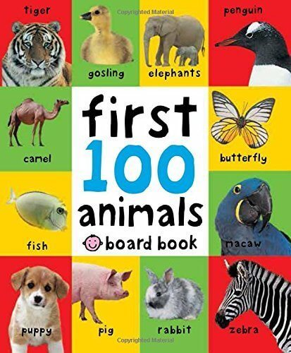 First 100 Animals. (First 100 Soft to Touch Board Books),動物,絵本,