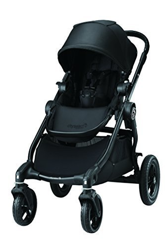 baby jogger(ベビージョガー) マルチユースベビーカー city select (シティセレクト) ブラック BK 5歳まで使える & 2人乗りにカスタマイズ可能 & トラベルシステム対応 2022278,海外,ベビーカー,