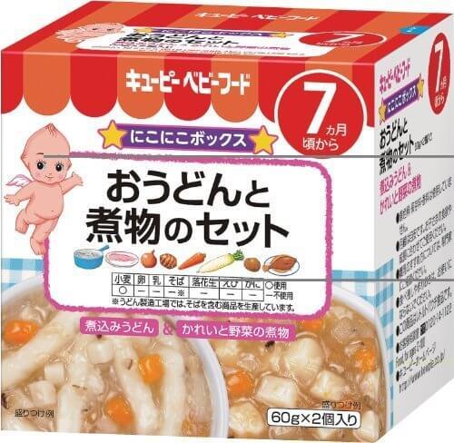 キューピーベビーフード おうどんと煮物のセット (60g×2個)×4個,ベビーフード,