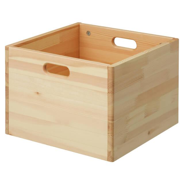 パイン材収納BOX,赤ちゃん用品,収納,