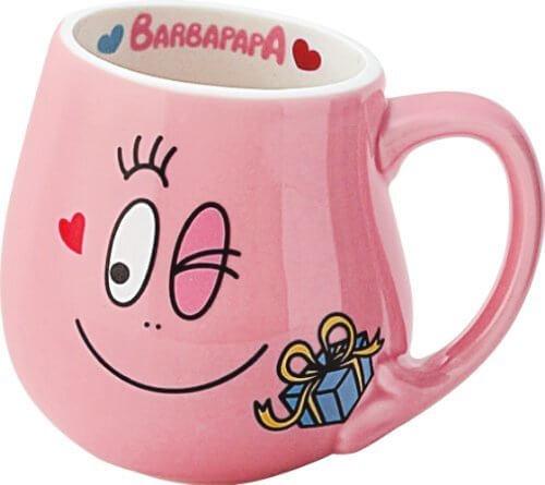バーバパパ カラー マグ パパ ピンク BB57-1-11,バーバパパ,絵本,