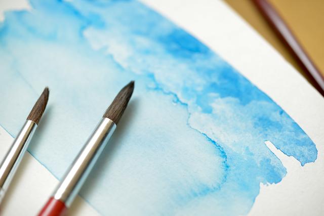 水彩絵の具,いわさきちひろ,絵本,