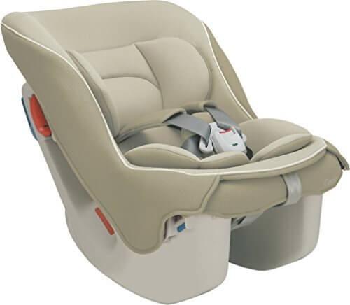 コンビ Combi チャイルドシート コッコロ S UX ヘーゼルナッツ (新生児~4歳頃対象) 取付け簡単コンパクト設計,赤ちゃん,おでかけ,