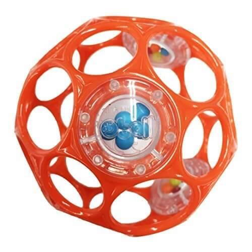 O'ball オーボール ラトル オレンジ (81119) by Kids II,赤ちゃん,おでかけ,