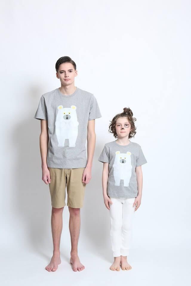 graniph(グラニフ),親子,おそろい,Tシャツ