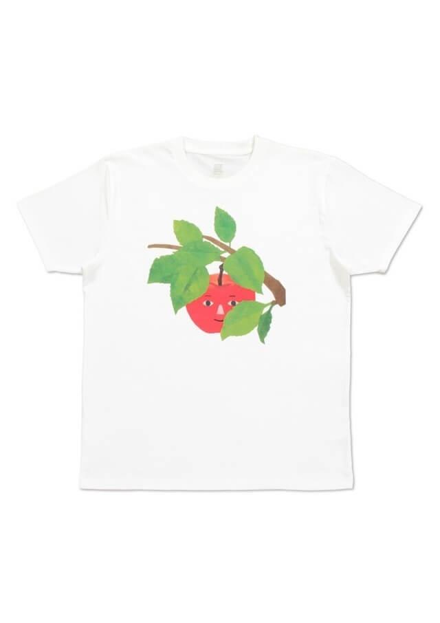くだものさん りんご,親子,おそろい,Tシャツ