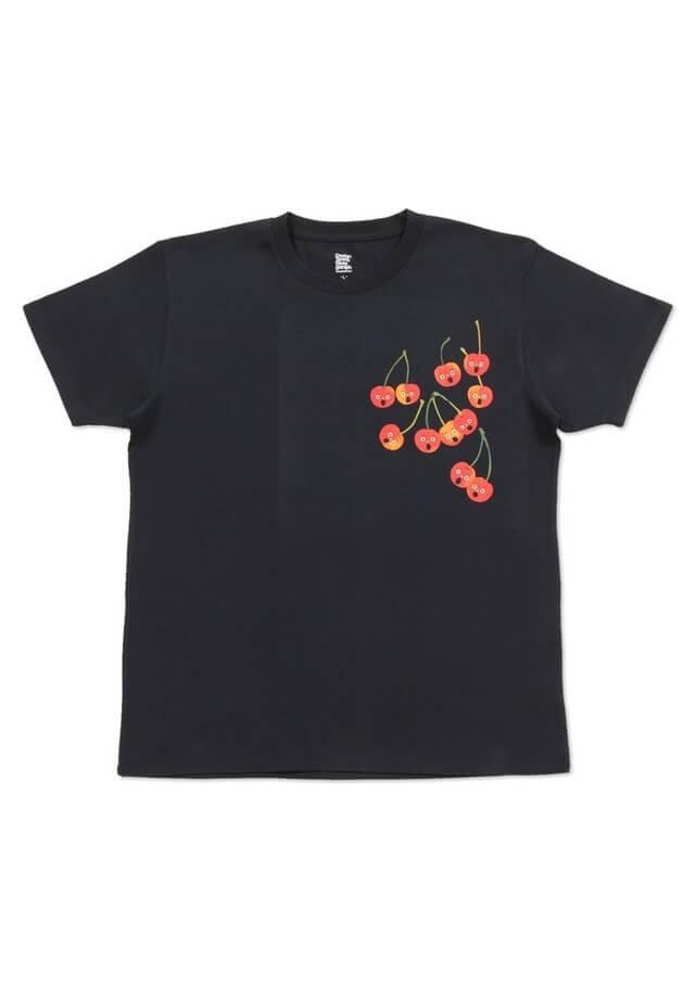 くだものさん さくらんぼ ,親子,おそろい,Tシャツ