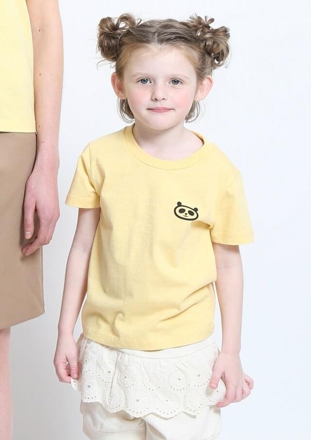 パンダ銭湯 サングラス,親子,おそろい,Tシャツ