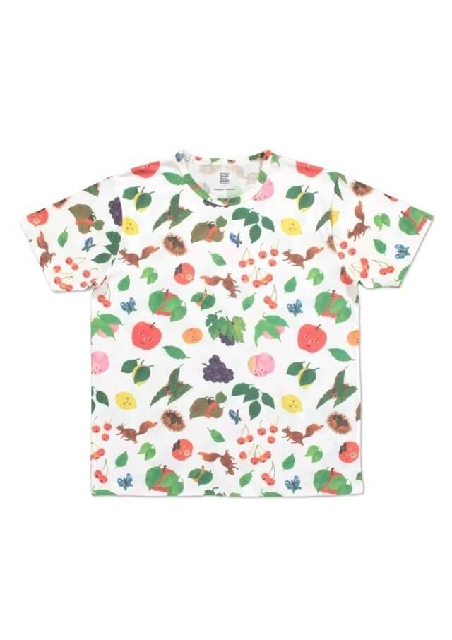 くだものさん パターン,親子,おそろい,Tシャツ