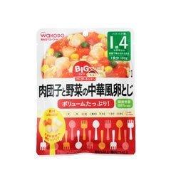 和光堂 BIGサイズのグーグーキッチン 肉団子と野菜の中華風卵とじ 100g,和光堂,ベビーフード,