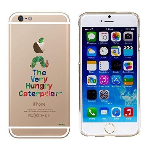 iPhone6s iPhone6 ケース カバー はらぺこあおむし クリアケース ハードケース / たいとる,はらぺこあおむし,グッズ,