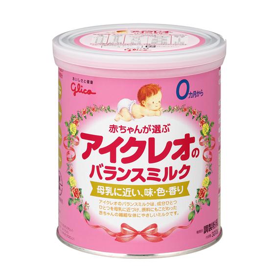 アイクレオのバランスミルク 320g [1缶],粉ミルク,