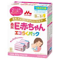 森永 E赤ちゃん エコらくパック つめかえ用,粉ミルク,