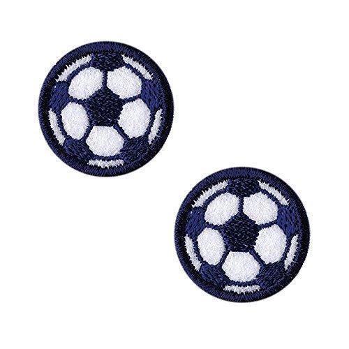 KIYOHARA お気に入りミニワッペン サッカーボール MOW484,アイロンワッペンの付け方,