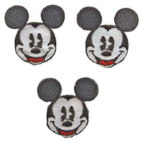 パイオニア ワッペン ディズニー ミッキーマウス DI300-DI12,アイロンワッペンの付け方,