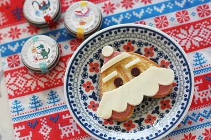 源氏パイでサンタさん,クリスマス,レシピ,