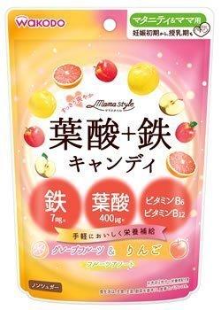 ママスタイル 葉酸+鉄キャンディ 78g,ランキング,葉酸サプリ,口コミ