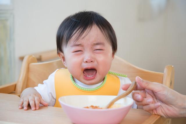 赤ちゃん泣く離乳食,離乳食中期,食材,