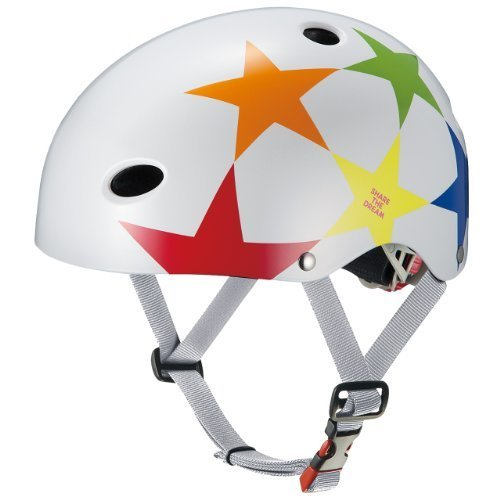 OGK KABUTO(オージーケーカブト) チャイルドメット FR-KIDS スターホワイト (頭囲 50cm~54cm未満),おしゃれ,おすすめ,子供乗せ自転車