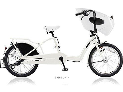 ブリヂストン(BRIDGESTONE) 2018 ビッケ ポーラー b BP03UT 子供乗せ自転車 EXBKホワイト 4758,おしゃれ,おすすめ,子供乗せ自転車