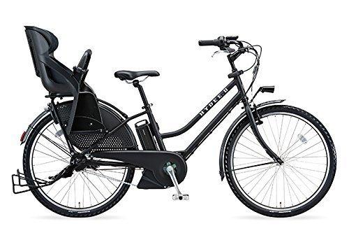 ブリヂストン(BRIDGESTONE) 2018年モデル HYDEE.Ⅱ(ハイディツー) カラー:T.Xクロツヤケシ リヤチャイルドシート標準装備仕様 HY6C38-BK タイヤサイズ:26インチ 12.3Ahリチウムイオンバッテリー搭載 専用充電器付,おしゃれ,おすすめ,子供乗せ自転車