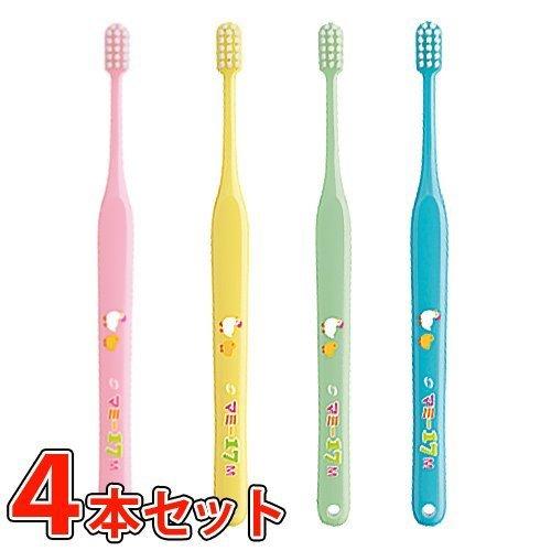 オーラルケア マミー17 歯ブラシ 4本 (ミディアム(M)),仕上げ磨き,歯ブラシ,