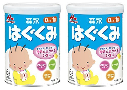【Amazon.co.jp限定】 森永 はぐくみ 大缶 810g×2缶パック,ランキング,粉ミルク,混合(主にミルク)