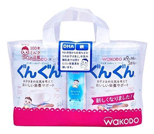 和光堂 フォローアップミルク ぐんぐん 粉ミルク [満9ヶ月頃から3歳頃] 830g×2缶 ベビーミルク (おまけ付き),ランキング,粉ミルク,混合(主にミルク)
