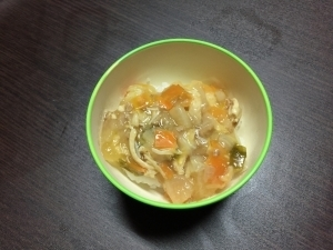 【離乳食 完了期】お野菜たっぷり♪中華丼,離乳食,えのき,