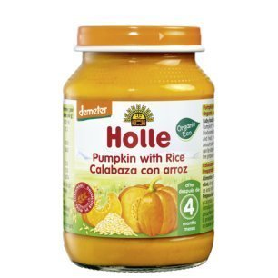 ホレベビーフード 有機ライス入りかぼちゃ デメター認定 5か月から 190g,離乳食,ベビーフード,