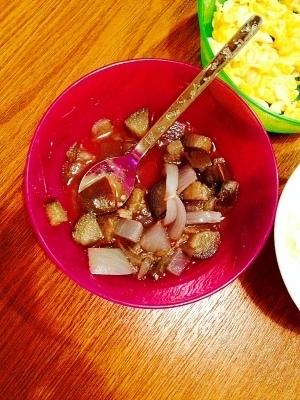 離乳食☆ナスと大根と玉ねぎのデミグラスソース煮,離乳食,なす,