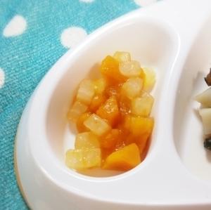 離乳食後期*カボチャと大根のとろみ煮 ,離乳食,大根,