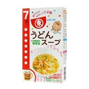 ヒガシマル 赤ちゃん用 うどんスープ 2.2g*8袋 7ヶ月頃から,離乳食,うどん,中期