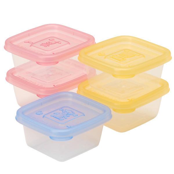 ベビープー離乳食保存容器 Sサイズ5個パック,離乳食,うどん,中期