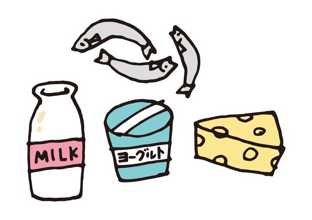 カルシウムを含む食品,離乳食,中期,しらす