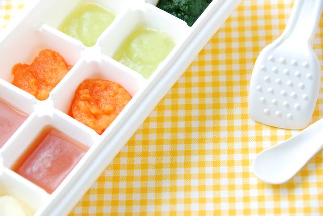 冷凍保存,離乳食,中期,しらす