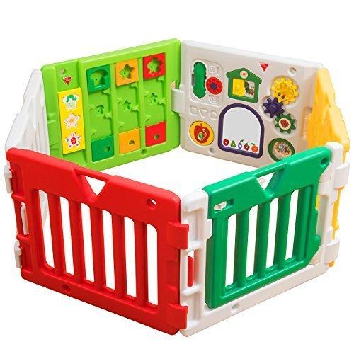 日本育児 ベビーサークル はらぺこあおむしミュージカルキッズランドDX 6ヶ月~3歳半対象 あおむしのおもちゃ付きのベビーサークル,ベビーサークル,おすすめ,