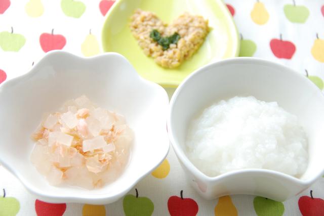 納豆をつかった離乳食,赤ちゃん,納豆,