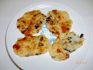 離乳食☆納豆海苔ご飯のおやき,赤ちゃん,納豆,
