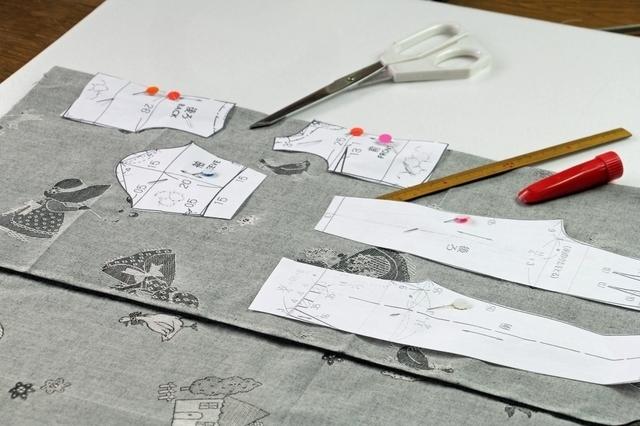 型紙,手作り,リュック,