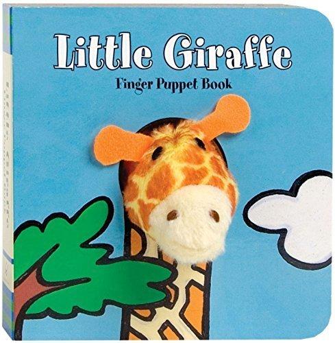 Chronicle Books (クロニクルブックス) えいごの絵本 キリン 指人形 リトル ジラフ Little Giraffe フィンガーパペット Finger Puppet Book えいご学習 子ども英語 しかけ絵本,絵本,おすすめ,0歳